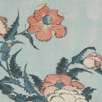 Katsushika Hokusai's 'Poppies,' from an untitled series known as 'Large Flowers' (1833-34) | PHOTO © 2013 MUSEUM OF FINE ARTS, BOSTON. ALL RIGHTS RESERVED