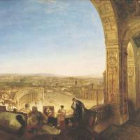 'Rome from the Vatican' (1820) by J.M.W. TURNER | ©TATE 2013-2014