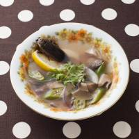 Giant water bug ethnic soup. | COURTESY OF MUSHIMOISELLE GIRIKO