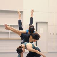 Shaping up: Scenes from rehearsals for the NNTT's 'Second Steps.' | TAKASHI SHIKAMA