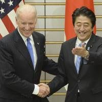 U.S. backs Japan against ADIZ: Biden
