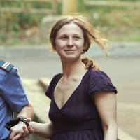 Pussy Riot member Alyokhina leaves Russian prison following amnesty