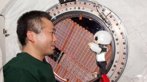 Kirobo put through its paces on ISS