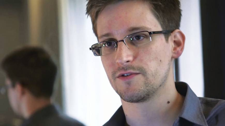 Spy games: Former U.S. National Security Agency contractor Edward Snowden gives an interview to Britain's The Guardian newspaper in Hong Kong on June 6.
