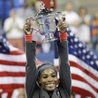 Serena wins third AP Athlete of Year award