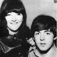 Just good friends: Freda Kelly and Paul McCartney during her time as The Beatles' secretary; Freda Kelly in Tokyo recently (right). | COURTESY FREDA KELLY, KAORI SHOJI