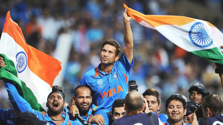 Cricket legend Sachin Tendulkar called time on his illustrious career this year.