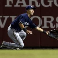 Royal treatment: Kansas City acquired outfielder Norichika Aoki in a trade on Thursday. | AP