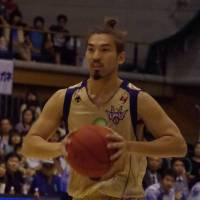 Familiar face: Ryukyu guard Shigeyuki Kinjo has played for the franchise since its inception in 2007. | HANA SUZUKI