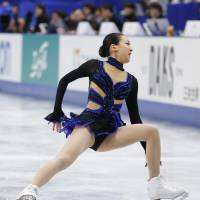 Time to give it up: Mao Asada can no longer rely on the triple axel to score big points in competition. She should eliminate the jump from her programs and concentrate on other elements.  | KYODO