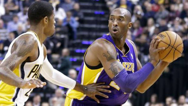 Kobe out 6 weeks with injury