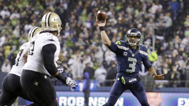 Seahawks steamroll Saints