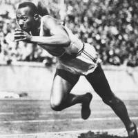 A piece of history: Jesse Owens won gold in the 100- and 200-meter sprints, 400 relay and long jump at the 1936 Olympic Games in Berlin. | AP