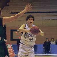 Reliable option: Taishiro Shimizu is Oita's third-leading scorer at 13.8 points per game this season. | HANA SUZUKI