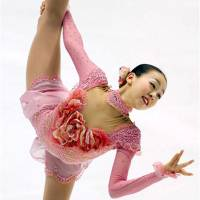 Pretty in pink: Mao Asada is heavily favored to win this weekend's Grand Prix Final in Fukuoka. | AP