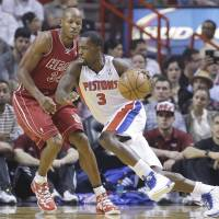 Pistons snap Heat's 10-game streak
