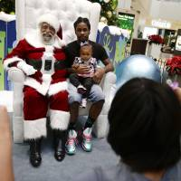 Santa Claus has many faces, races