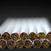 Bad for your budget: Cigarettes are unlikely to get a free pass when the sales tax is increased. | BLOOMBERG