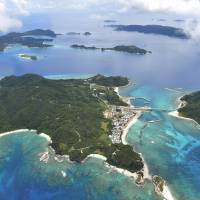 Worth preserving: Okinawa's Kerama Islands, which will be designated as a national park in March, are seen in August. | KYODO