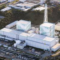 Part of the problem: Reactors 5 and 6 of Tokyo Electric Power Co.'s Fukushima No. 1 plant are seen in September. | KYODO