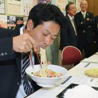 Nagasaki boasts local wheat for 'chanpon'