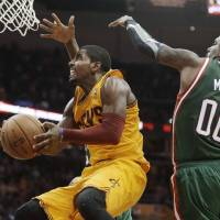 Sick Irving sinks Bucks