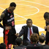 He's gone: Bill Cartwright was one of several successful coaches to leave the bj-league in 2013. | HIROAKI HAYASHI