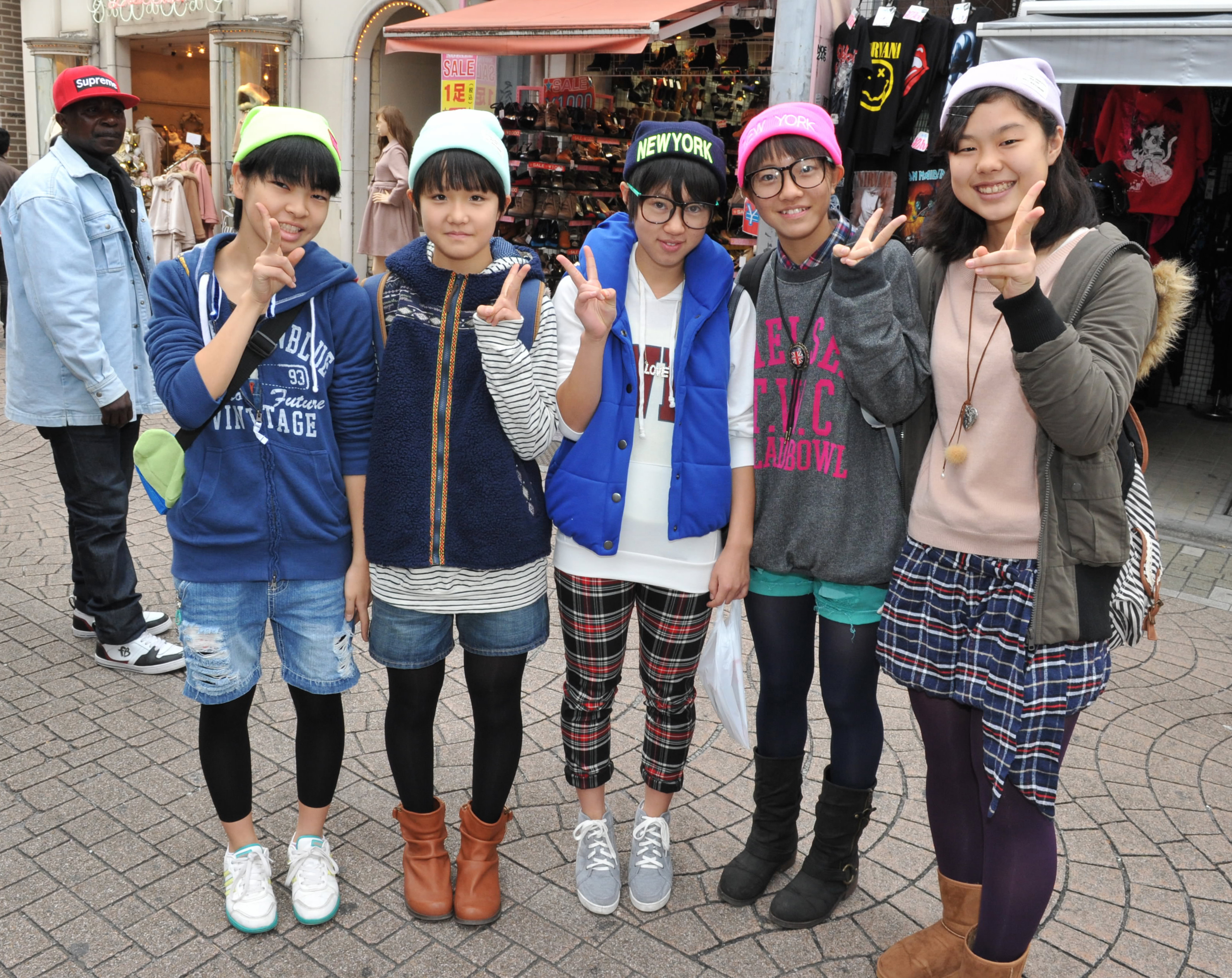 In touristy tokyo harajuku still stands out from the crowd the japan times - Teen japan girls ...