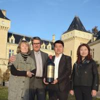 Chinese tycoon, French vintner missing in crash
