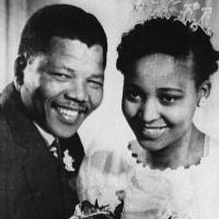Second thoughts: Nelson Mandela poses with his second wife, Winnie, during their wedding in 1958. | AFP-JIJI