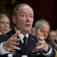 Remote exploitation: NSA Director Gen. Keith Alexander testifies before a Senate Judiciary Committee hearing on Capitol Hill in Washington on Wednesday. | AP