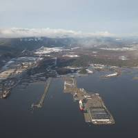 Oil and water: The British Columbia city of Kitamat is the proposed termination point for the Northern Gateway oil pipeline.  | AP
