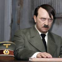 A wax figure of Adolf Hitler | BLOOMBERG