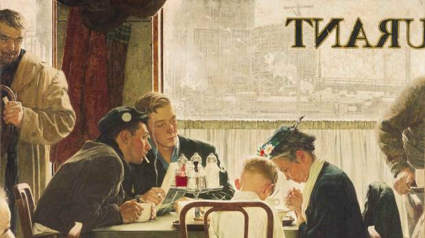Rockwell painting sells for record $46 million at auction