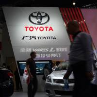 Toyota sales show China row eased