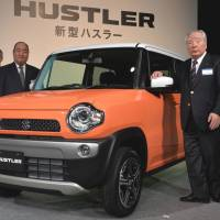 Suzuki to sell Hustler minicar from January