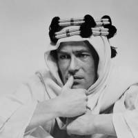 It was written: Peter O'Toole is shown in the movie 'Lawrence of Arabia' in this undated photo. | AP