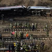 NYC train derailment kills 4, injures more than 60