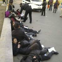 Chinese drink pesticide in Beijing protest over failed petitions
