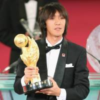 Marinos star Nakamura honored with J.League Player of the Year award