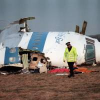 Memorials in Britain to mark 25th anniversary of Pan Am Lockerbie bombing