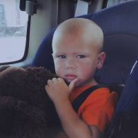Young victim: Jesse Ray Adams, seen in this undated photograph, was shot and killed by his father in July 2012 at the age of 3 in Grifton, North Carolina. | THE WASHINGTON POST