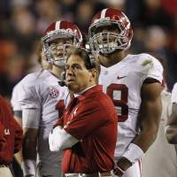 Roll over: When it mattered most, Alabama coach Nick Saban failed to push the right buttons. | AP