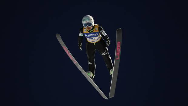 Takanashi wins World Cup opener