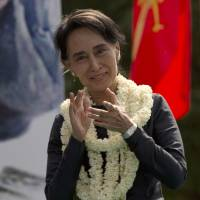 Suu Kyi's NLD party to contest 2015 national election in Myanmar