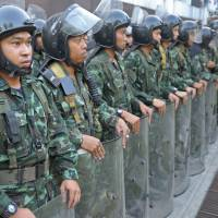 Thai army wary of intervening one again
