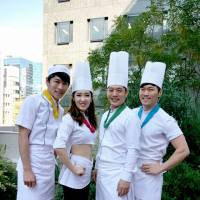 Dishy: Cast members of 'Cookin' Nanta'