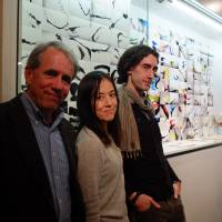 The art of criticism (L-R): Mark Schilling, Kaori Shoji and Giovanni Fazio.