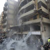 Suspected suicide bombing kills five in Hezbollah-run area of Beirut