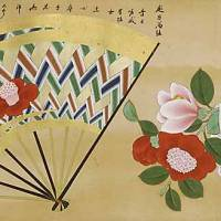 'One Hundred Camellias,' attributed to Kano Sanraku (17th century) | GIFT OF MOGI KATSUMI, NEZU MUSEUM